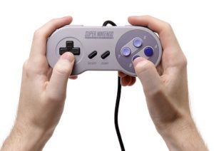 Mobile Game Controller - Image of SNES Controller