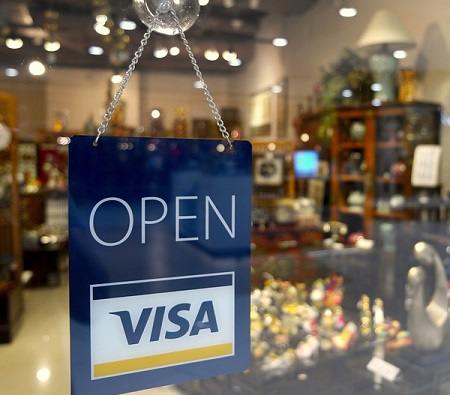 Braintree mobile payments - Open Sign with Visa